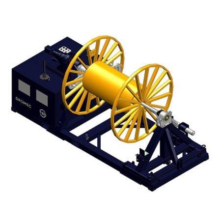 dromec, seilwinde, winde kaufen, spezialwinde, spezialseilwinde, angetrieben, elektrisch, hydraulisch, individuell, maßgefertigt, sondermodelle