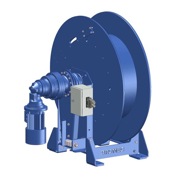 Zeichnung einer elektrischen Hubwinde EPH-1000-TPY zur Verwendung in Offshore-Windparks