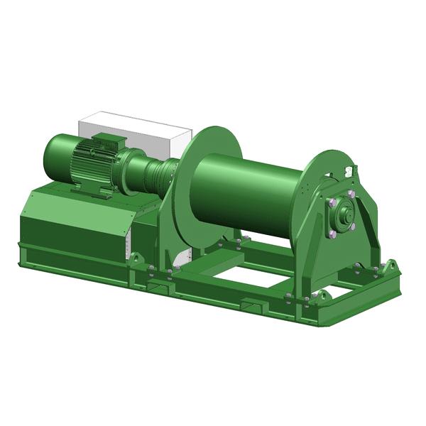 Zeichnung einer elektrischen Hubwinde EPH-10000