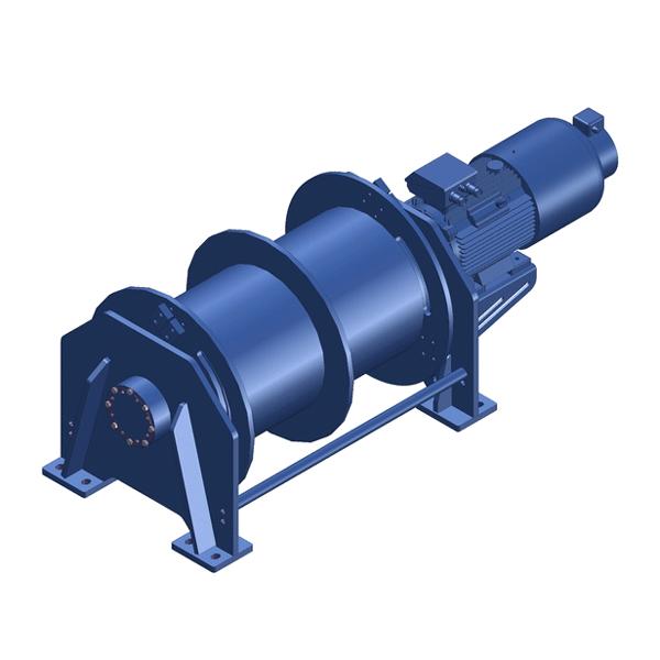 Zeichnung einer elektrischen Hubwinde EPH-30000