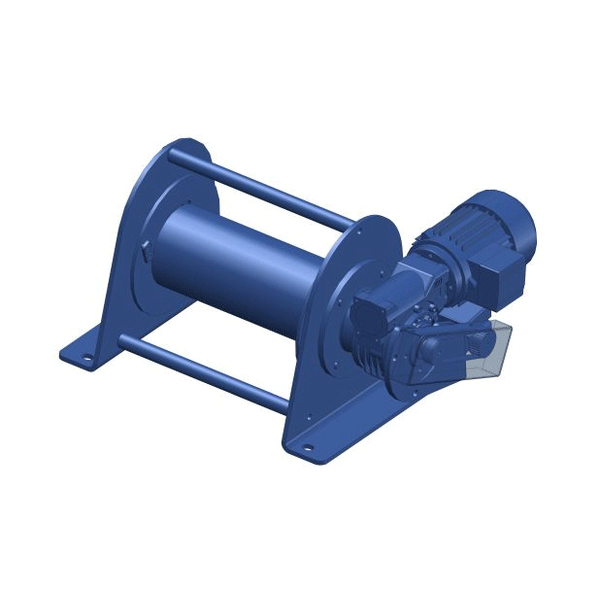 Zeichnung einer elektrischen Hubwinde EWH-100