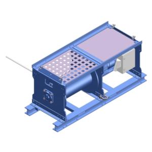 Zeichnung einer elektrischen Zugwinde / Verholwinde EPV-10000