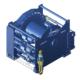 Zeichnung einer gewaltigen, elektrischen Zugwinde / Verholwinde EPV-70000