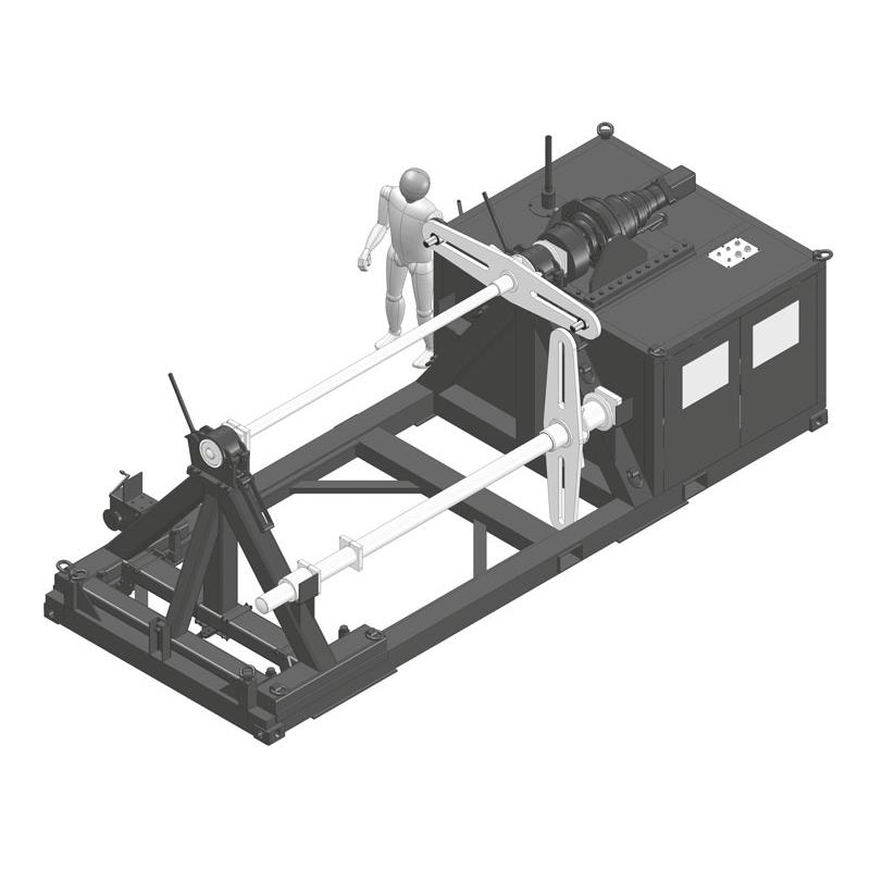 Entwurfsbeispiel einer Seil-Wickelmaschine